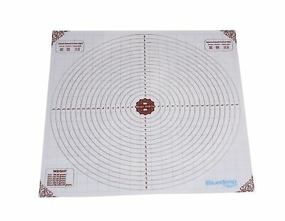20x20 inch Large Silicone Pastry Mat, Measurements Non-stick Sheet Baking Mat.