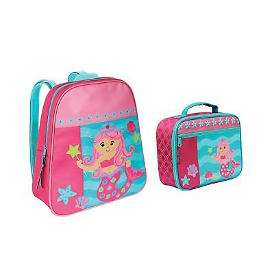 f74d073385e4 Stephen Joseph Girls Mermaid Backpack and Lunch Box with Activity Pad