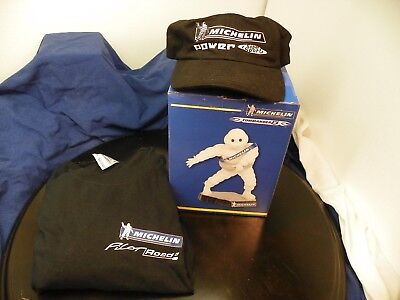 Michelin Man Statue, Cap and Tee Shirt, dealer exclusives! Only Set on EBAY!