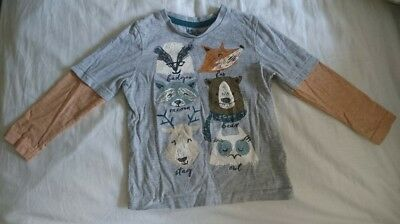 Tu woodland creatures long sleeve tshirt top 12-18 months