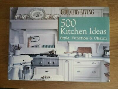 *Country Living:500 Kitchen Ideas: Style, Function & Charm;toller Bildband/Küche