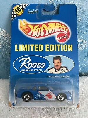 Limited Hot Wheels Roses Discount Store Buick NASCAR Tommy Houston 1992