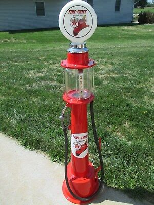 1/4 scale vintage gas pump/ rot rod/ street rod/ visible pump