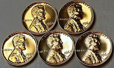1964 PROOF LINCOLN MEMORIAL CENT PENNY  **Free Shipping**