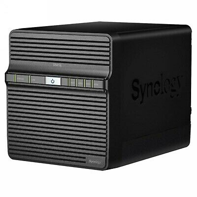 Synology Diskless DS418j 4 Bay DiskStation NAS Server Dual Core