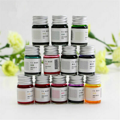 5ml Ink For Signature Crystal Glass Dip Pen Fountain Pen Non-carbon Ink