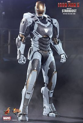 IRON MAN 3 - Mark 39 Starboost 1/6th Scale Action Figure MMS214 (Hot Toys) #NEW