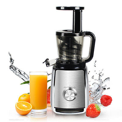 Slow Juicer Cold Press Silent Fruits Vegetable Juice Masticating Extractor Mixer