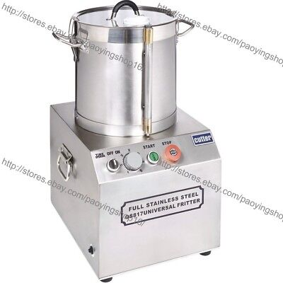 17L Stainless Steel Electric Commercial Food Processor Chopper Grinder Dicer