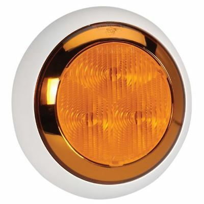 94335W Narva 9-33 Volt L.E.D Rear Direction Indicator Lamp (Amber) with Chrome R