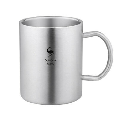 Kids Water Mugs Stainless Steel Drinking Cups For Children Break Resistance