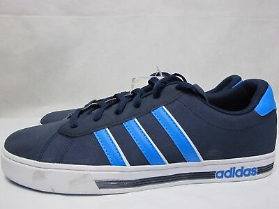 cca0e5c949c1 ... italy mens adidas neo daily team shoes navy blue lace up trainers 54f47  9ce1d