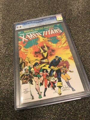 Marvel & Dc Present The X-Men And Teen Titans #1. Cgc 9.8