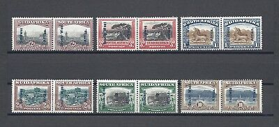 SOUTH WEST AFRICA 1927 SG 49/54 MINT  Cat £180