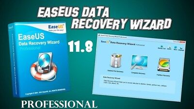EASEUS DATA RECOVERY 11.8 PROFESSIONAL FULL VERSION 64Bit only