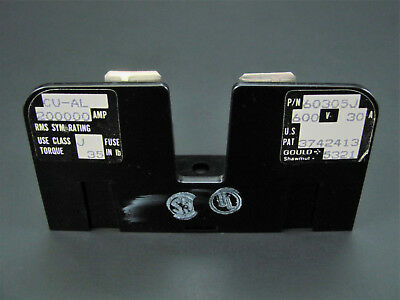 1-Pole 30A 600V Add-On Fuse Block for GS 60306J - Gould Shawmut 60305J