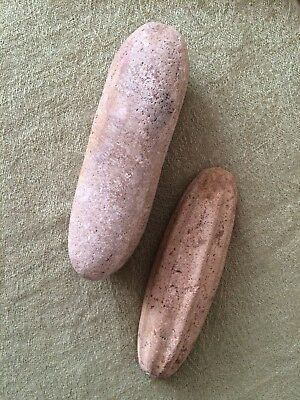 Early antique stone artefacts Indonesia Java antiquities