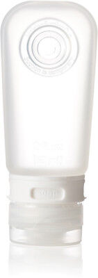 Humangear GoToob Clear Medium 2 oz Knife HG0104 Squeezable Travel Tube. Clear FD