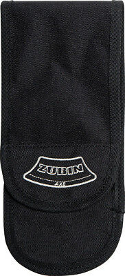 Zubin Axe Accessory Pouch Knife ZA-011 Black nylon construction with embroidered
