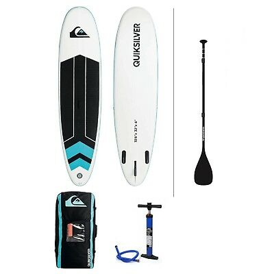 "QUIKSILVER ISUP 10,6"" - Stand-up gonflable + Pompe Bravo SUP3 + Housse *NEUF*"