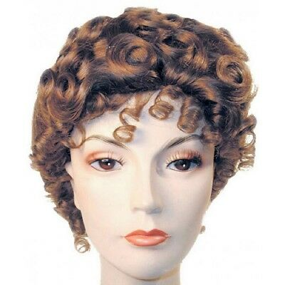 Nanny Mary Poppins Suffragette Victorian Gibson Girl Wig Teen Adult