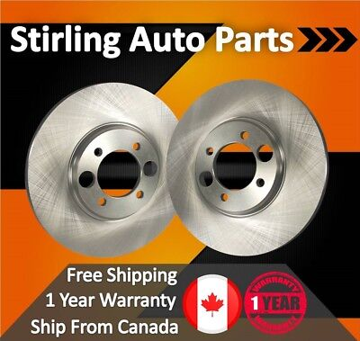 2011 For Toyota Sienna Front Disc Brake Rotors Pair