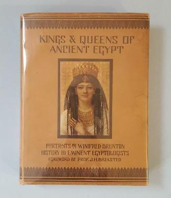 "Book, ""Kings & Queens of Ancient Egypt"", portraits by Winifred Brunton, 1924"