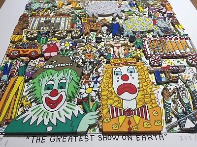 "James RIZZI: Original 3D ""THE GREATEST SHOW ON EARTH"", handsigniert, TOP ANGEBOT"