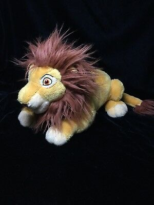 "Walt Disney World The Lion King Simba Plush Soft Toy 10"" Stuffed Animal"