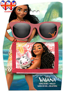 Vaiana Moana, Sunglasses and Wallet Set,Official Licensed