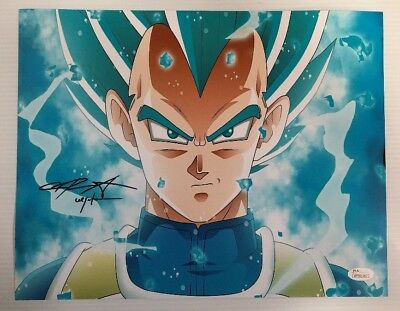 Chris Sabat Signed Autographed 11x14  Photo Dragon Ball Z Vegeta JSA COA 14