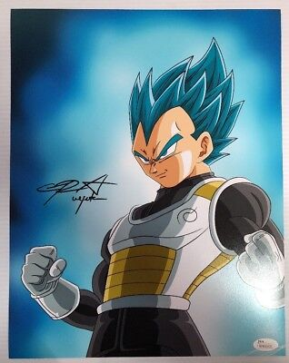 Chris Sabat Signed Autographed 11x14  Photo Dragon Ball Z Vegeta JSA COA 16