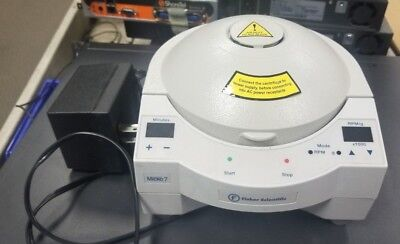 Fisher Scientific Micro 7 Mini Microcentrifuge 12 Slot 7200g 13501