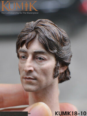 KUMIK 1:6 Scale Male Head Sculpt  KUMIK18-10  John Lennon heads For Figure