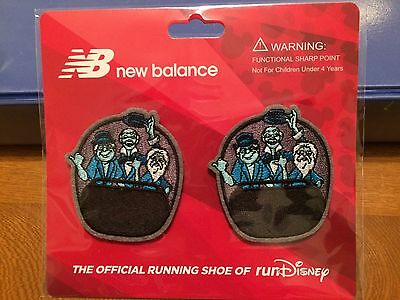Run Disney 2017 Haunted Mansion Hitchhiking Ghosts New Balance Sneaker Clips