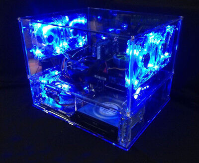 Top Grade Unique Clear Diy Personalized Transparent Acrylic Computer