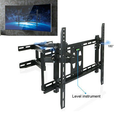 """23-70"""" Curved Flat TV LCD LED Articulating TV Wall Bracket Mount Swing Arms AU"""