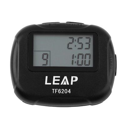 LEAP Portable LCD Display Tabata Interval Timer for Fitness Training Boxing Yoga