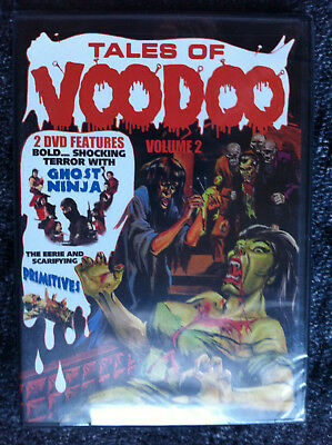 TALES OF VOODOO - Vol. 2 - GHOST NINJA / PRIMITIVES - DVD - REGION 1 - NEW