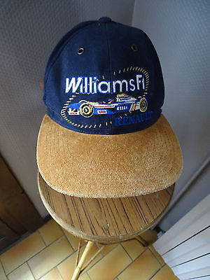 Ancienne Casquette F1 Williams F1 Renault Blue Thunder