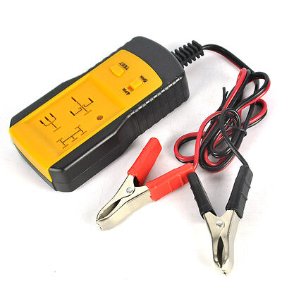 AE100 Electronic Automotive Relay Tester for 12V Cars Auto Battery checker