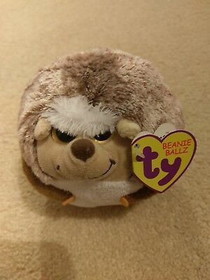 48777d99e12 TY Beanie Ballz Prickles The Hedgehog 5