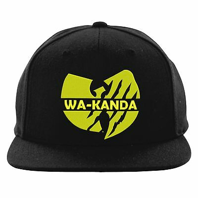 WAKANDA HAT WAKANDA Cap Black Panther Hat Black Panther Cap Black ... 1fb00a354cfd