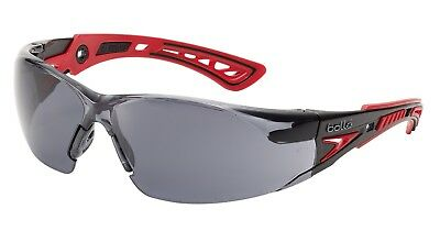 Bolle RUSH+ RUSHPPSF Anti-scratch Anti-fog Safety Spectacles Glasses Smoke Lens