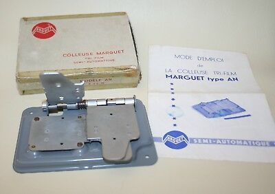 Marguet Trifilm Splicing Machine For 8 mm 9.5 mm & 16 mm Film Formats