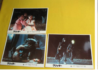 CRITTERS Lobby card set movie japan rare About 205 mm x 255 mm