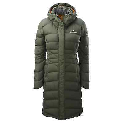 Kathmandu Women's Longline driFILL Warm Winter Puffer Duck Down Jacket v3