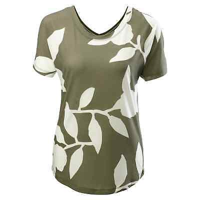 Kathmandu Adapt Womens Quick Dry Relaxed Fit Reversible T-shirt Top