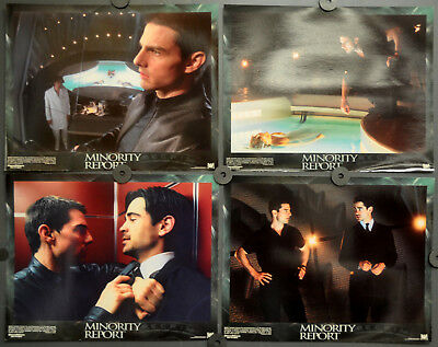 Minority Report 2002 Orig 11X14 Complete Lobby Card Set Tom Cruise Colin Farrell