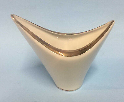 Edelstein Germany Fine Porcelain Candy Dish Of Boat Shape